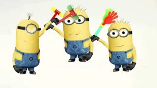 Despicable Me 2 Minions Гадкий я 2 Mega hit the sounds of hammers and heads