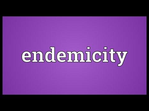 Header of endemicity