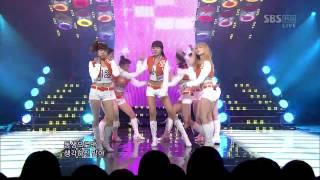 100307 SNSD - Oh! (Without Yuri) @ Inkigayo