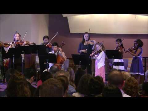 Kaleidoscope Academy Violin Recital, Snohomish, WA, June 3rd, 2017