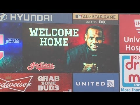 LeBron's return has economic impact on Cleveland