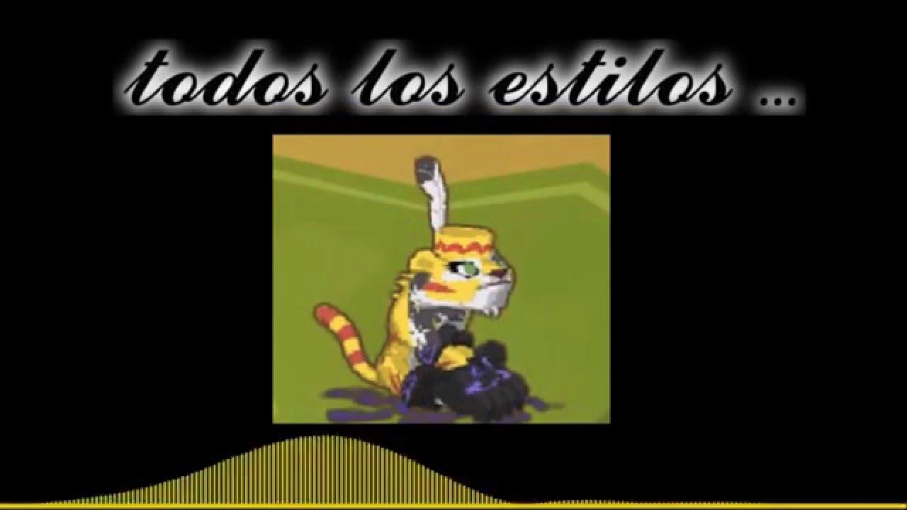 TOP 10 ESTILOS(NO MIEMBRO)-ANIMAL JAM