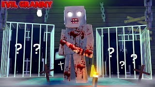 Minecraft EVIL GRANNY HORROR HOUSE - WHAT FAMILY DOES EVIL GRANNY HAVE TRAPPED IN HER ATTIC??