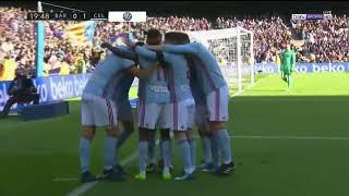 Amazing save Ter Stegen and goal Lago Aspas  Barcelona vs Celta 0 1 La Liga 02 12 2017 HD