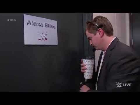 NEW_Alexa Bliss Is Rudely Interrupted In Her Dressing Room- Raw, Jan. 14, 2019
