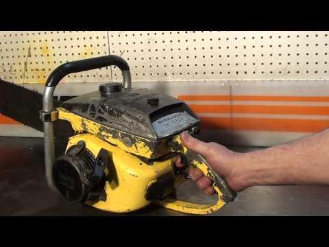 The chainsaw guy shop talk McCulloch CP 125 Chainsaw 3 1