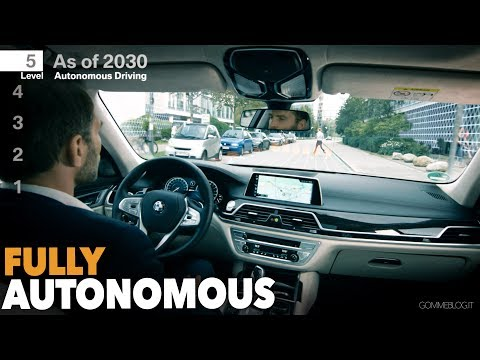 BMW Fully Car Autonomous Automated Driving (LEVEL 5)