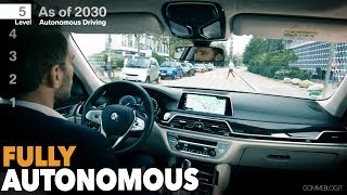 BMW Fully Car Autonomous Automated Driving (LEVEL 5) thumbnail