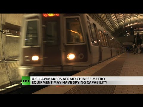 China May Be Spying On US Subway Cars