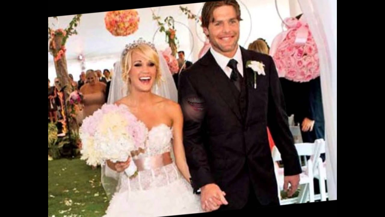 carrie underwood 39 s wedding day youtube