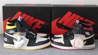 How To Get Air Jordan 1 'Not For Resale' In Red And Yellow Release Info. HD Review