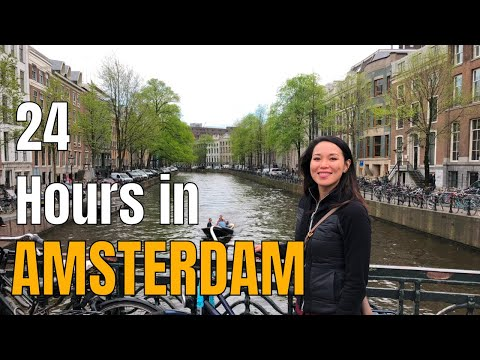 AMSTERDAM 24-Hour Visit 2018 | Centraal | Anne Frank | Dam Square