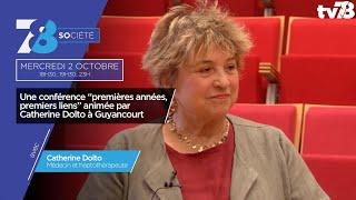 """7/8 Société. L'héritage de la """"Méthode Dolto"""""""