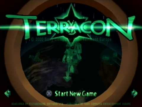Terracon PSX - Opening and first level gameplay