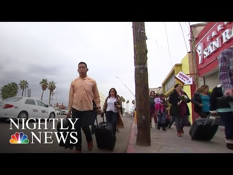 Parents Separated From Their Children At The Border Demand Reunification   NBC Nightly News