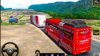 Modern New Bus Driving Parking 3D 2021   New Bus Game Video   Bus Driving To Hill 🤔🤔 screenshot 4