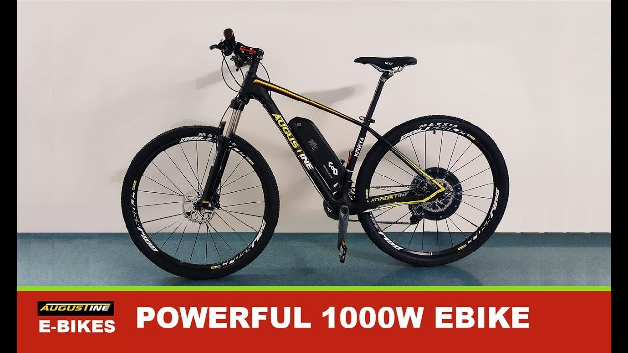 e bike 1000 watt 48 volt conversion kit very fast carbon electric bike youtube. Black Bedroom Furniture Sets. Home Design Ideas