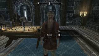 Девушка играет в Скайрим #3 (Кровь на снегу)