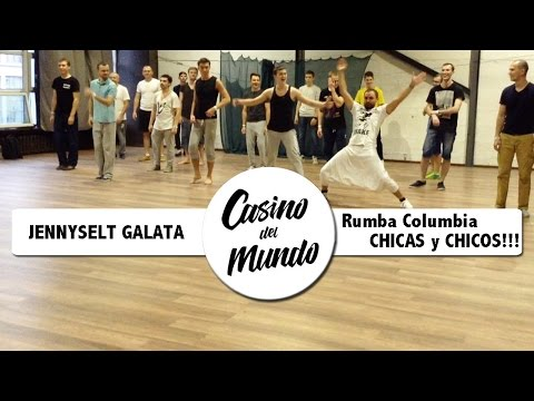 Jennyselt Galata | Rumba Columbia | CHICAS-CHICOS!!! CDM Moscu 2016 Nov.