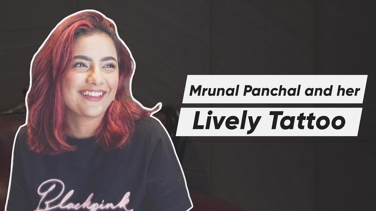 Mrunal Panchal shares her experience at Aliens | Aesthetic Script Tattoo