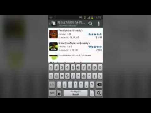 Tutorial de como baixar fnaf 1,2 e 3 No Android!