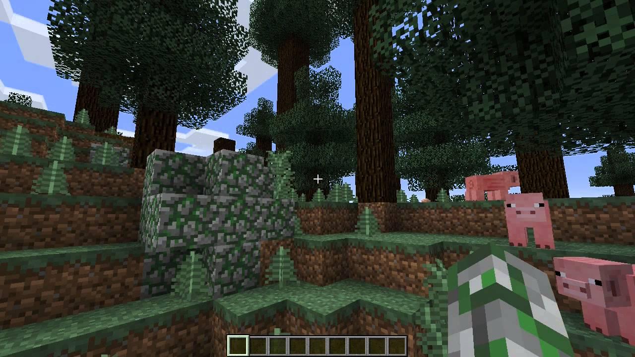 Seeds Minecraft Mega Taiga