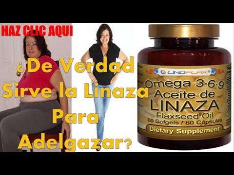 Sirve el aceite de linaza para adelgazar