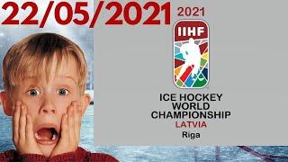 Чемпионат Мира по хоккею 2021 Итоги 2 дня Таблицы результаты расписание