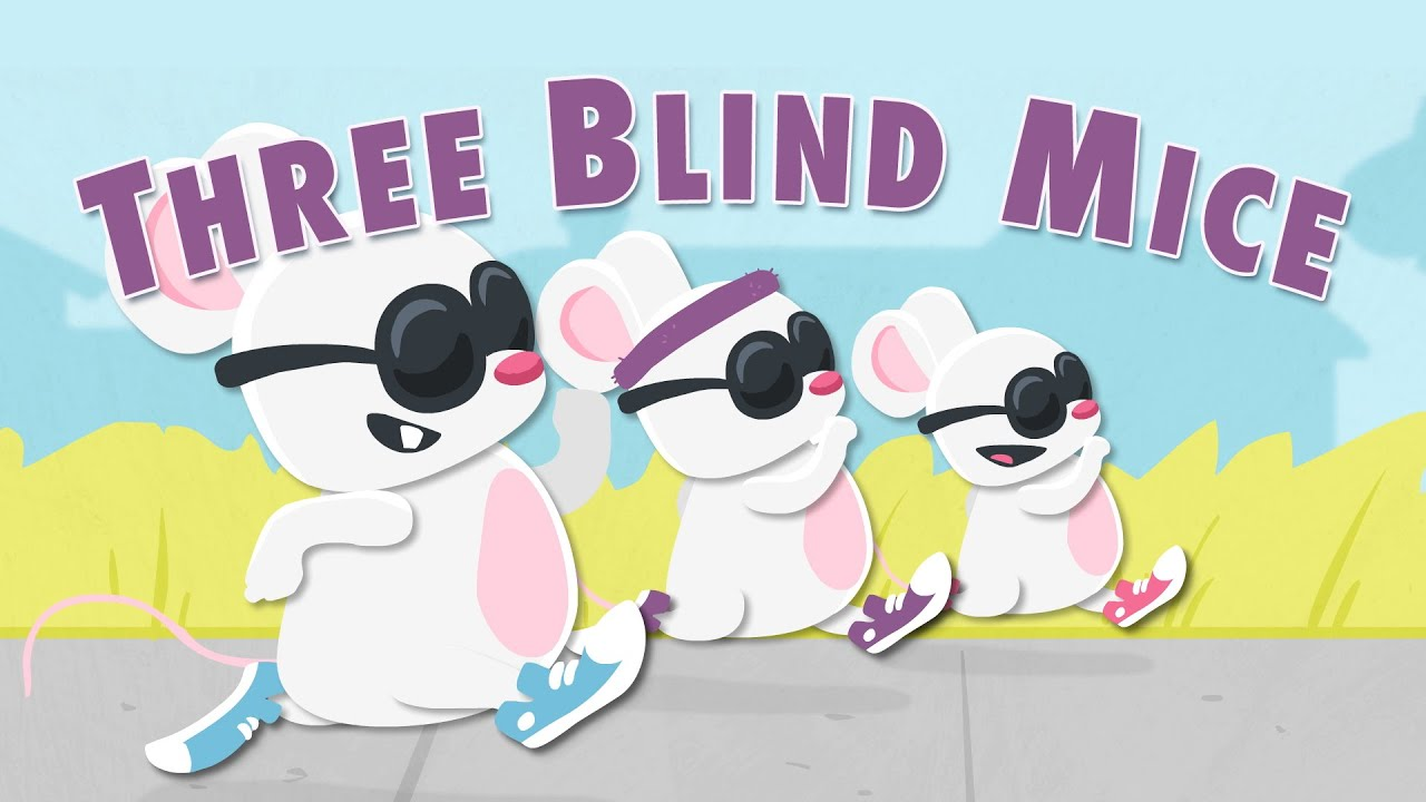 Three Blind Mice - Munchkin Music - YouTube