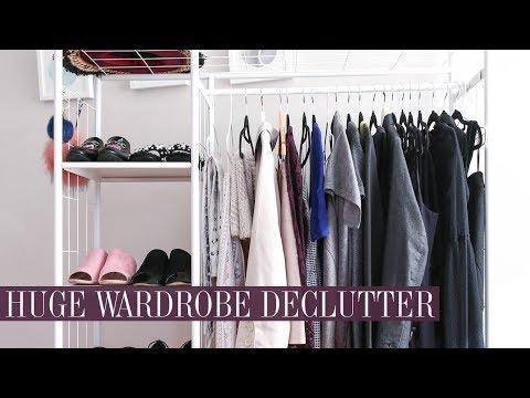 Massive Wardrobe Declutter & Clearout || Mademoiselle