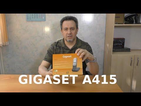 Обзор радиотелефона GIGASET A415