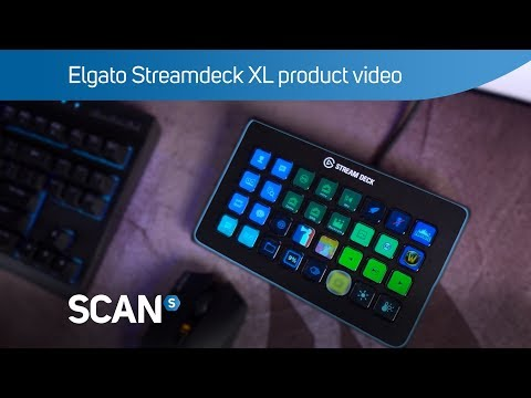 Elgato Stream Deck XL 32 Key Customizable LCD Content Creation Controller