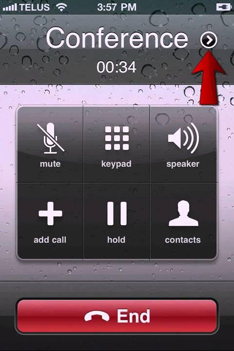 Verizon Conference Call Iphone
