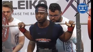 Russel Orhii - 1st Place 83 kg (World Record) - IPF Worlds 2019 - 833 kg Total