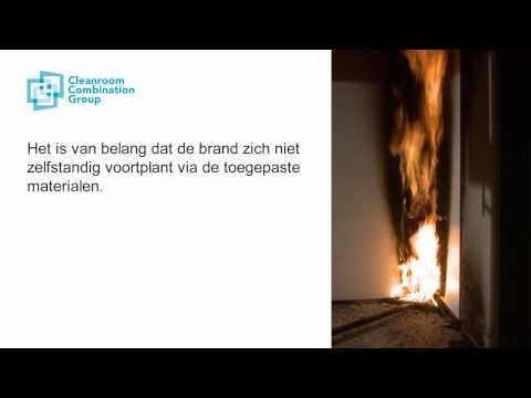Trespa Virtuon 3mm brandwerend test