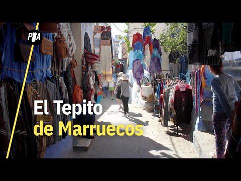 Fuimos al Tepito de Marruecos, donde se vende piratería y hachís