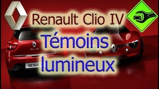 Renault Clio 4 | Témoins lumineux