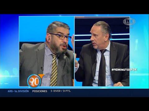 Dura Discusión Chavo Fucks Y Marcone Por La Deuda De Independiente | 90 Minutos Fox Sports