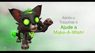 Conheça Traquinas - Nova mascote de World of Warcraft