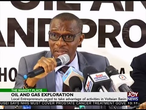 Oil And Gas Exploration - The Market Place on Joy News (12-3-18)