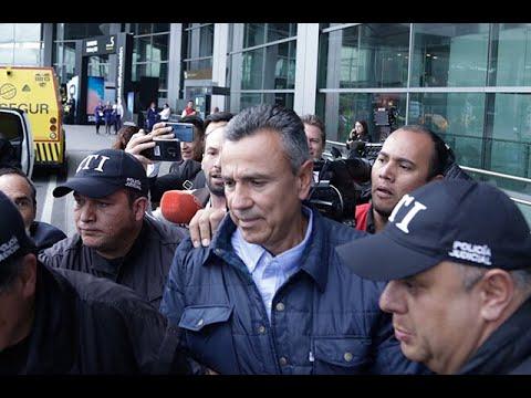 En su llegada a Colombia, capturan al general (r) Mauricio Santoyo   Noticias Caracol