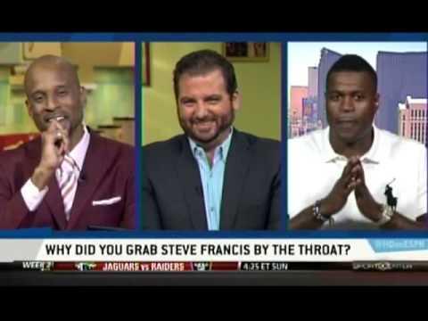 Stephen Jackson On Choking Steve Francis - Highly Questionable
