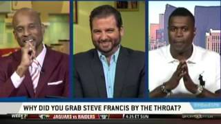 Stephen Jackson On Choking Steve Francis - Highly Questionable