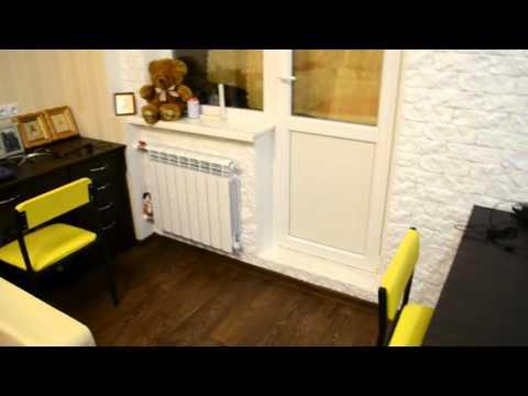 Дизайн ремонт однокомнатной квартиры студии в хрущевке ч.1