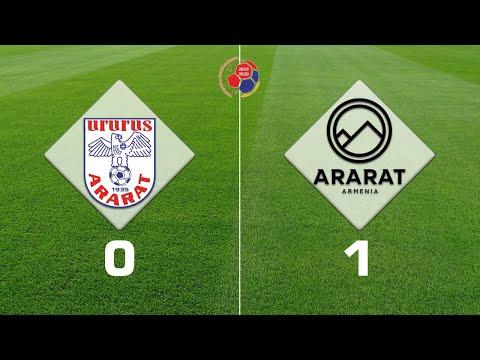 Ararat - Ararat-Armenia 0:1, Armenian Premier League 2019/20, Week 27
