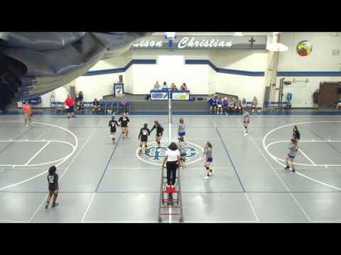 Madison Christian Hi vs. Delaware Christian School Varsity Womens' Volleyball