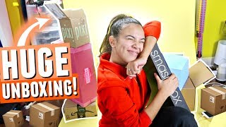 📦 HUGE MAKEUP UNBOXING: 📦 MAC, Tarte, Pixi, Smashbox, Maybelline, Kiss Products, AND MORE!