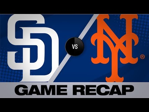 Cano Records 1st Career 3-homer Game In Win   Padres-Mets Game Highlights 7/23/19