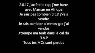 Gradur Priez Pour Moi Parole (Lyrics)