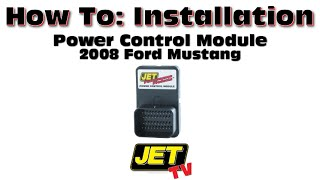 How to: 2008 Ford Mustang Jet Chip Performance Module Install